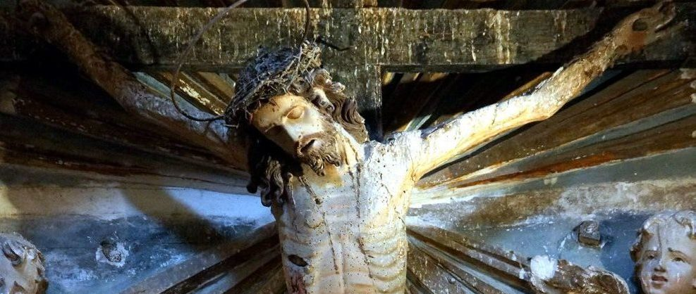 Salviamo il Crocifisso di Sant'Anna a Modica