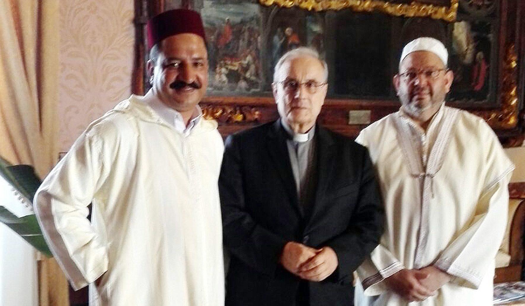 Mazara del Vallo, incontro tra il Vescovo Mogavero e l'Imam Ahmed Tharwa