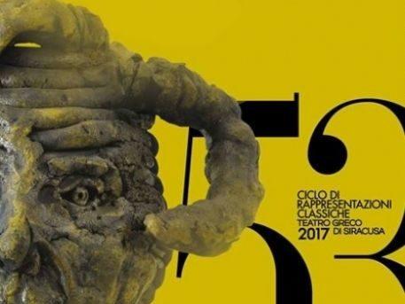 Gianni Dessì firma il manifesto del 53° Ciclo di rappresentazioni classiche di Siracusa