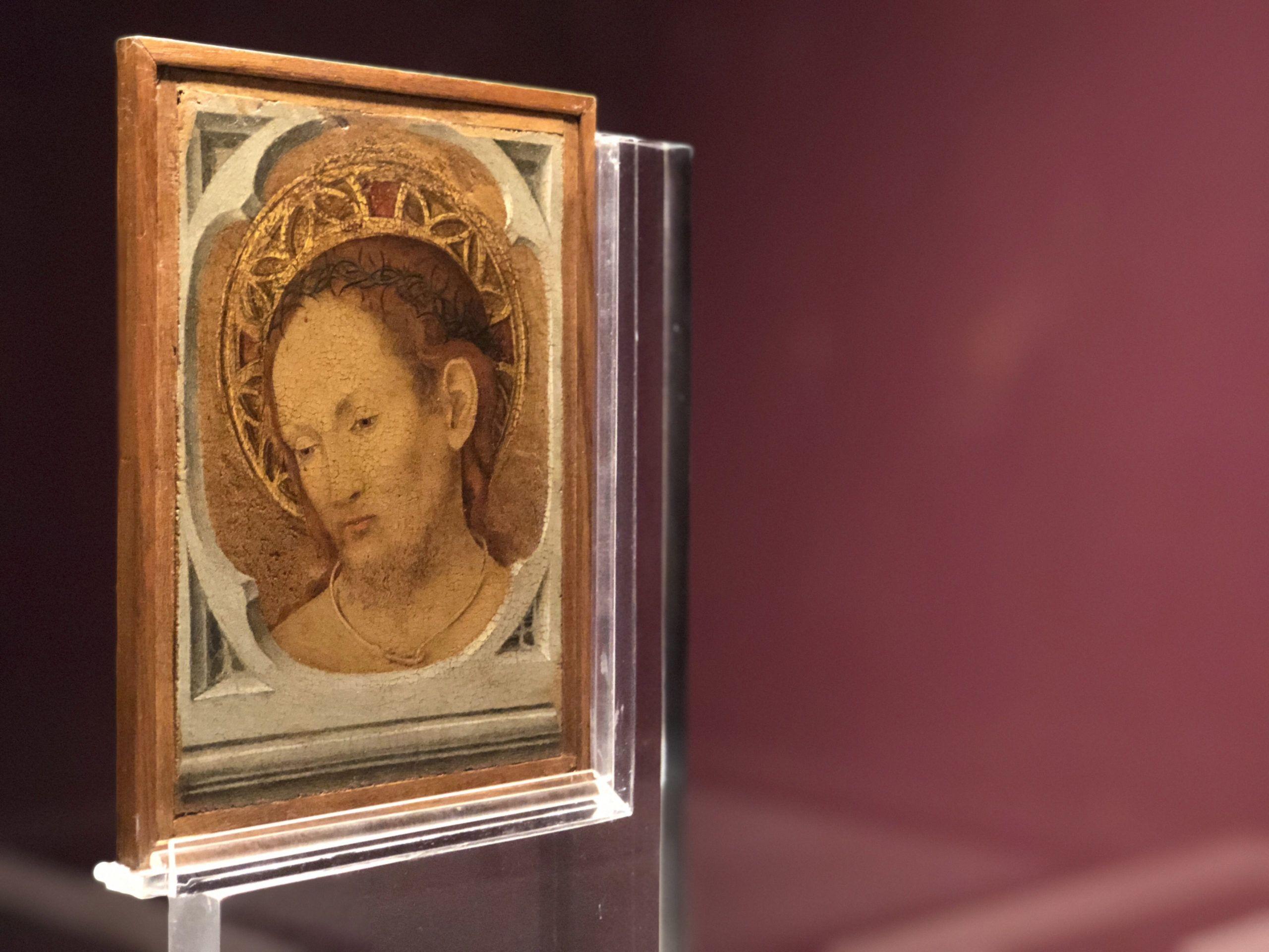 """La mostra """"Da Giotto a de Chirico"""" ospitata a Catania si arricchisce della """"Tavola Bifronte"""" di Antonello da Messina"""