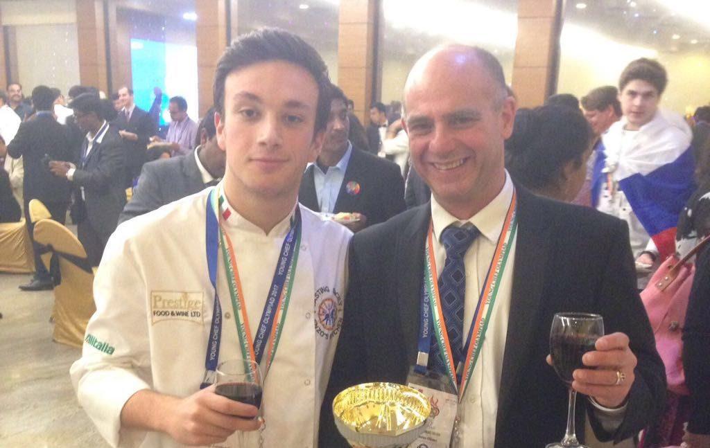 """Lo chef Enzo Oliveri giudice alle """"Olimpiadi dei Giovani Chef 2018"""""""
