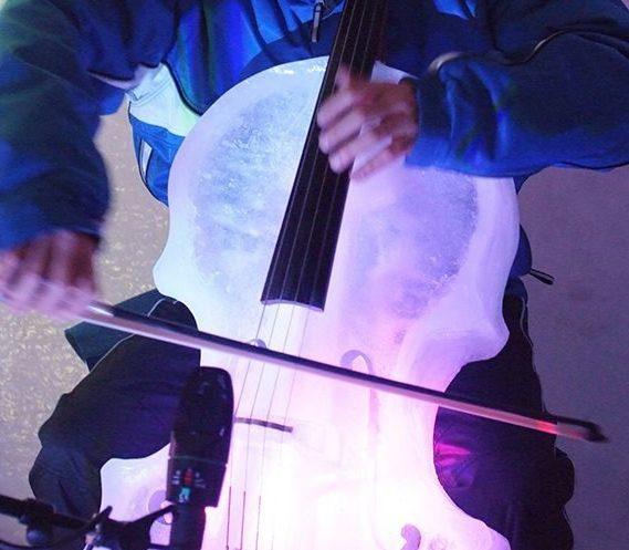 N-Ice Cello, Giovanni Sollima suona l'importanza dell'acqua