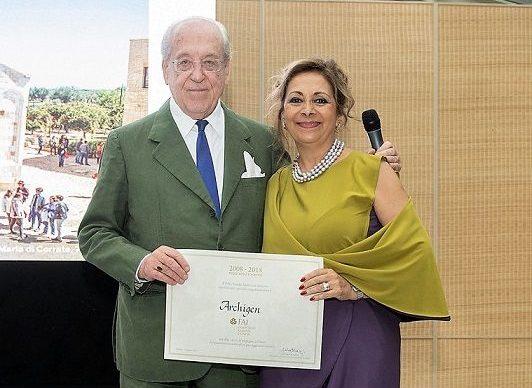 """Il FAI premia l'azienda siciliana Archigen, """"Corporate Golden Donor"""""""