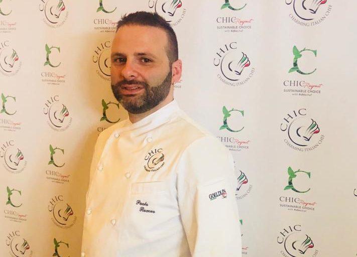 Lo chef messinese Paolo Romeo entra nella squadra di Chic (Charming Italian Chef)