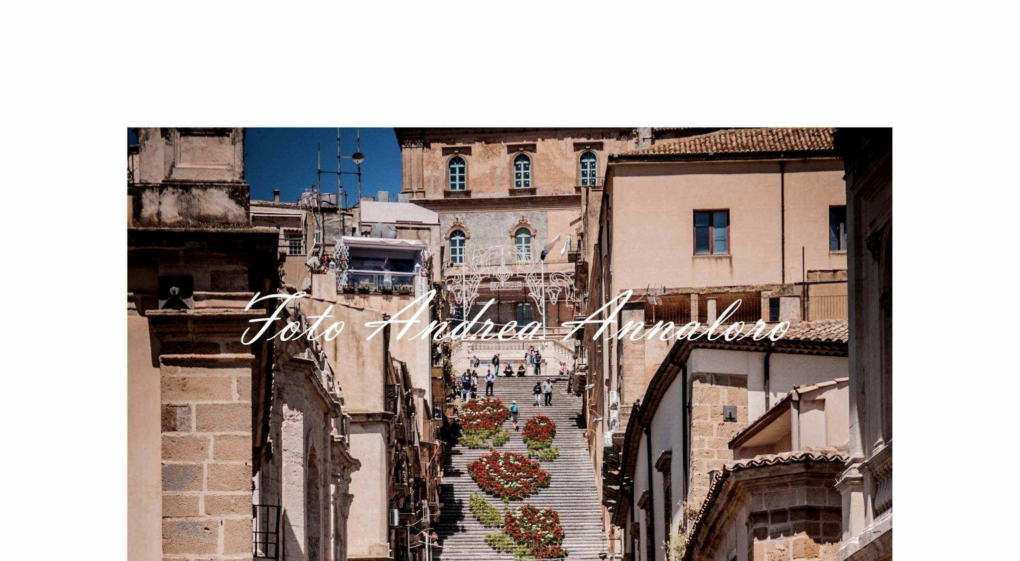 """La """"Scala Infiorata 2019"""" di Caltagirone allestita fino al 16 giugno"""