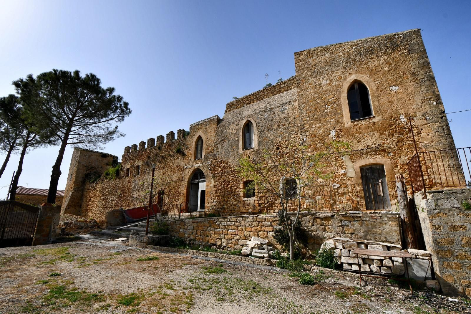 Piazza Armerina, Castello Aragonese