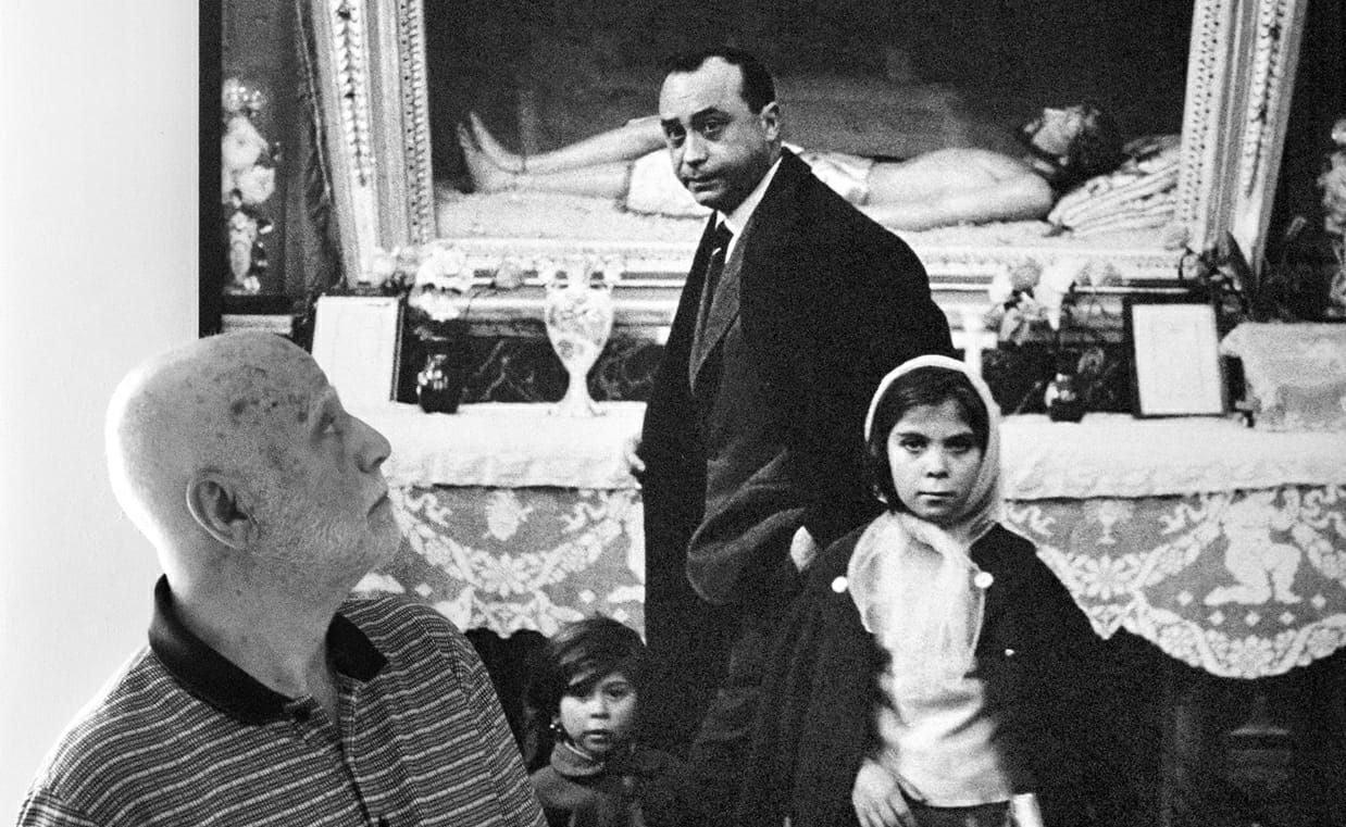 Giornata modicana per il fotografo bagherese Ferdinando Scianna, tra lectio magistralis e a cena con l'autore