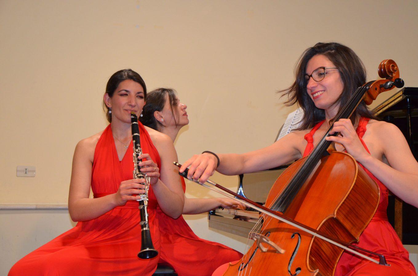 Trio Clementi, a Catania le nuove leve del camerismo in rosa