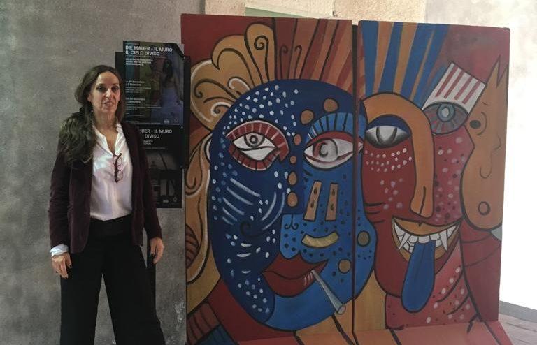 """Valeria Geremia: «30 anni dopo il crollo del Muro di Berlino, gridiamo """"No More Walls""""»"""