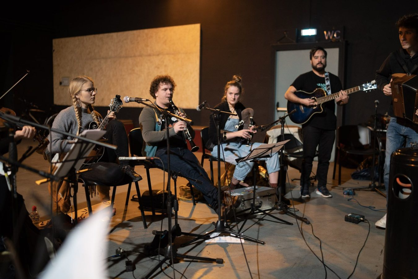 Nu Folk Global Connections, a Catania nasce l'Orchestra Folk Europea