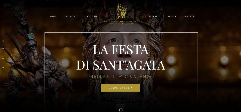 Un sito ed una app per vivere on line la Festa di Sant'Agata a Catania