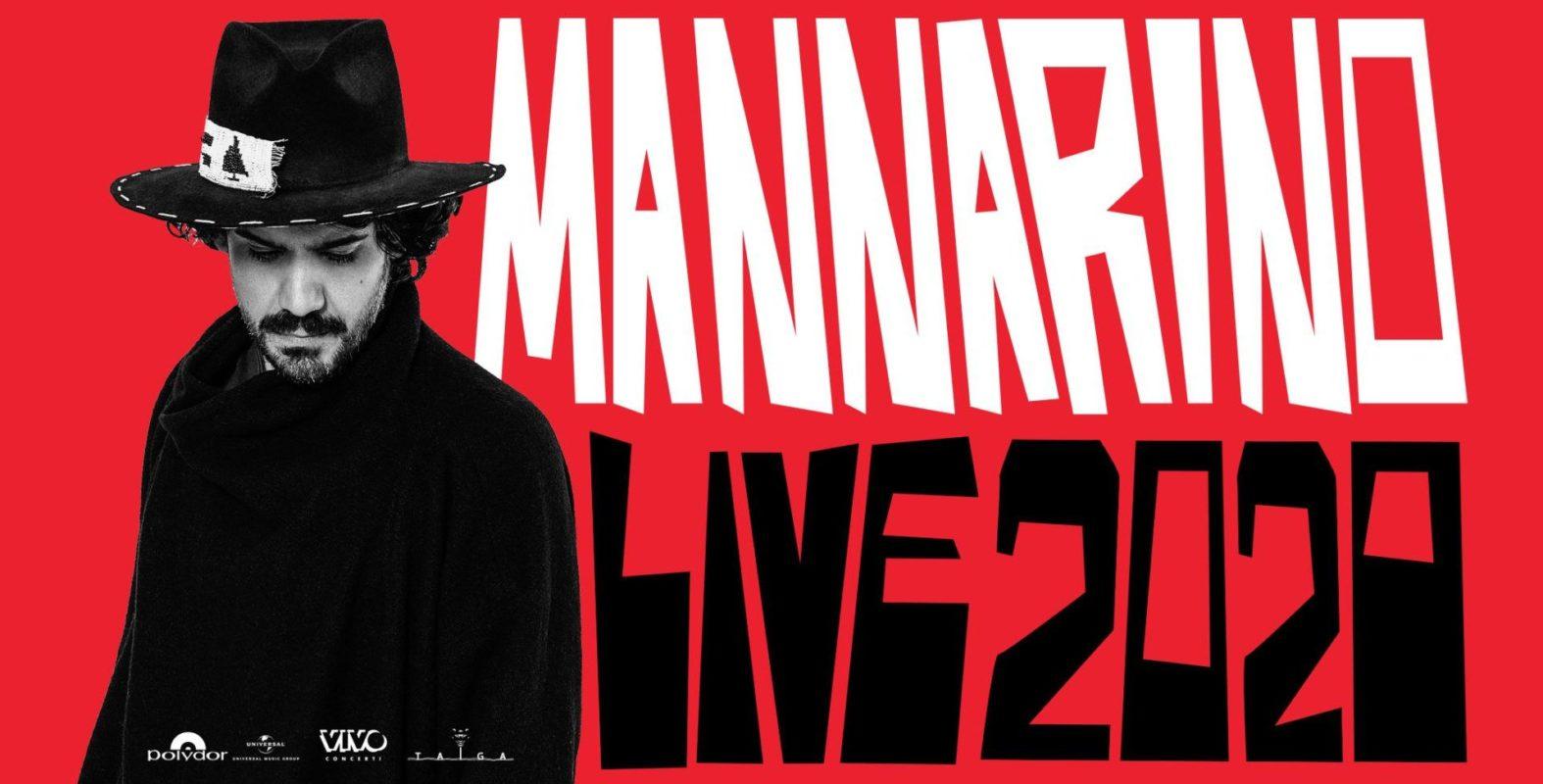 A ottobre Catania ospiterà l'unico live siciliano del tour 2020 di Mannarino