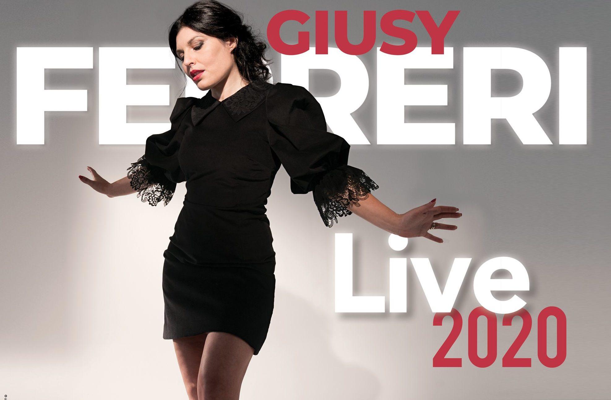 """Rinviato a data da destinarsi il tour """"Giusy Ferreri Live 2020"""""""