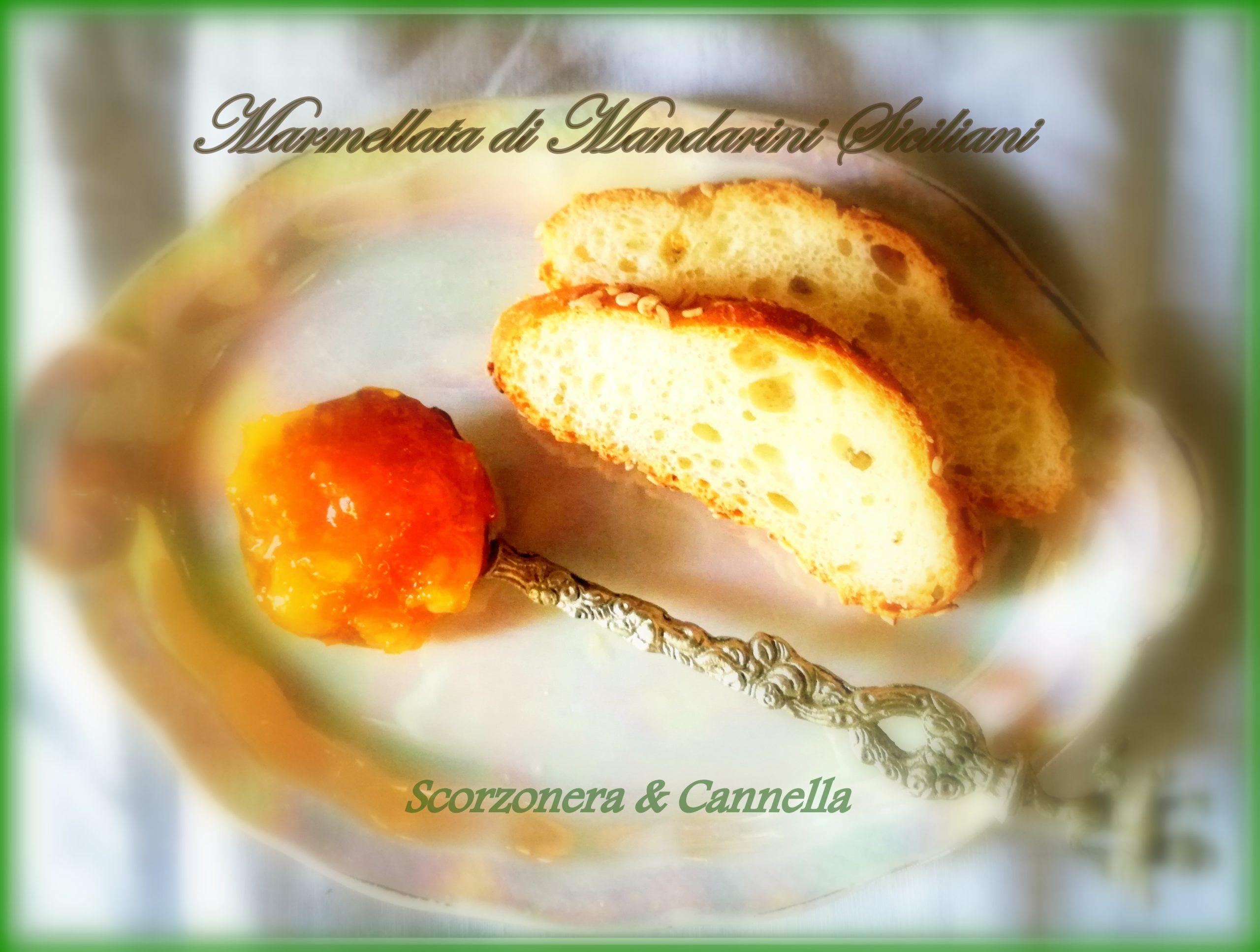 La marmellata di mandarini di Scorzonera & Cannella