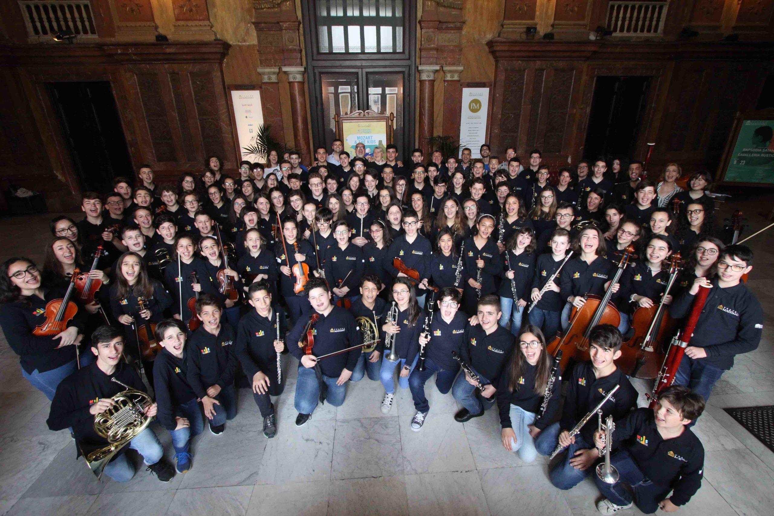 Fondazione Teatro Massimo Palermo, aperte le selezioni per la Massimo Kids e la Massimo Youth Orchestra