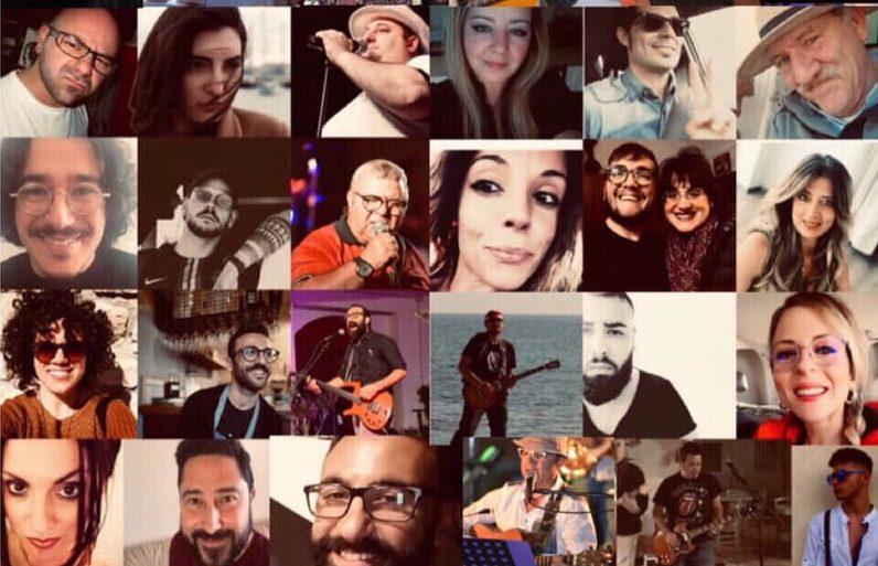 """#iosuonodacasa, gli artisti pachinesi cantano """"Domani #andràtuttobene"""""""