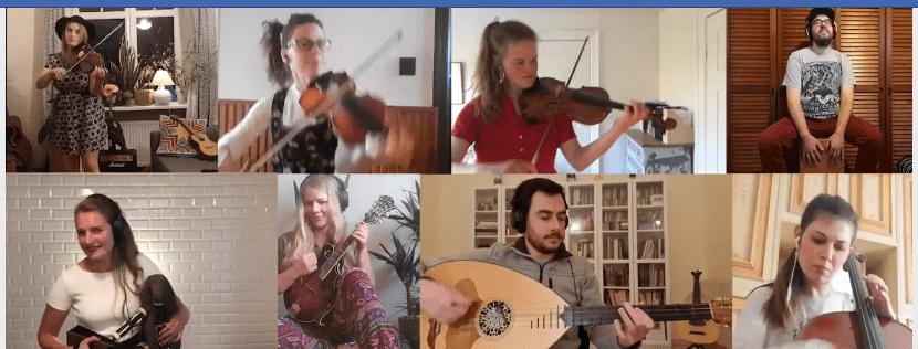 Dalla Sicilia alla Lettonia, il folk dalla quarantena dell'orchestra europea di Nu-Folk Global Connections