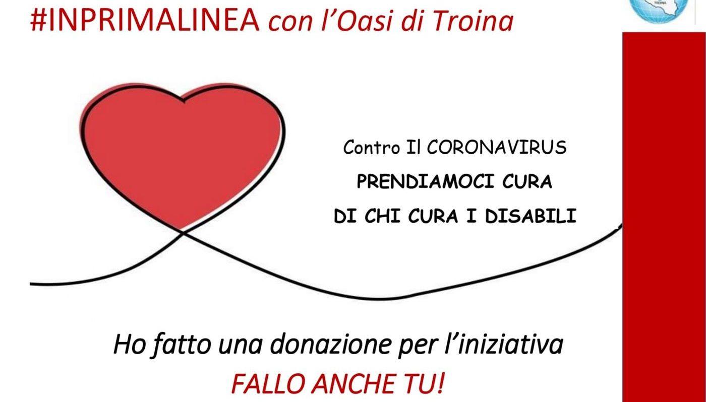 L'Oasi di Troina colpita dal Coronavirus lancia una raccolta fondi