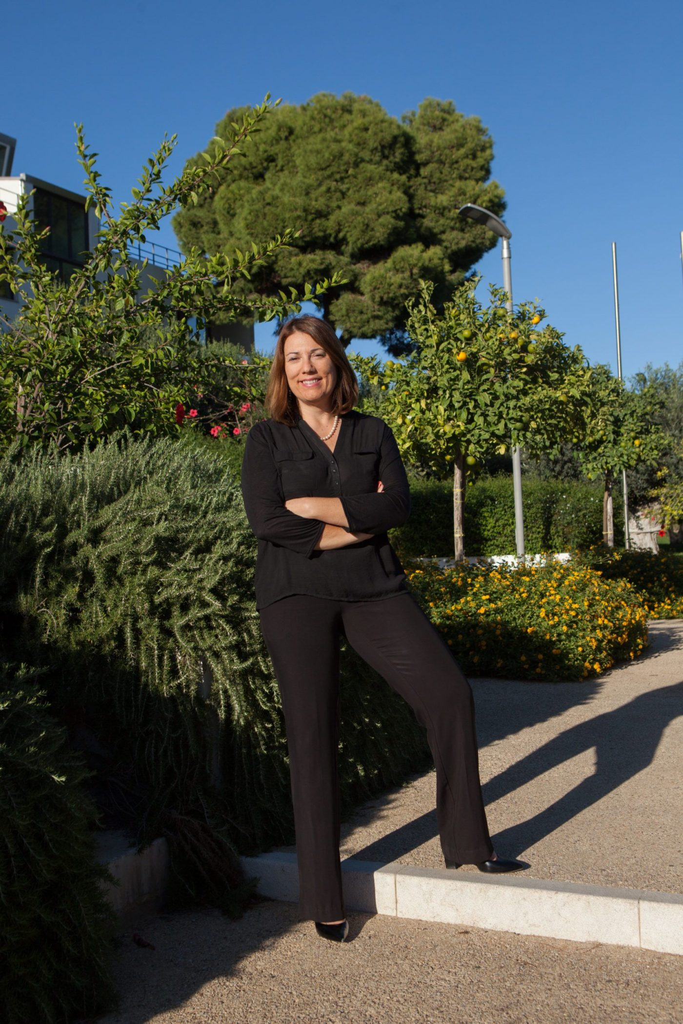 Roberta Urso, presidente della delegazione siciliana dell'Associazione donne del vino