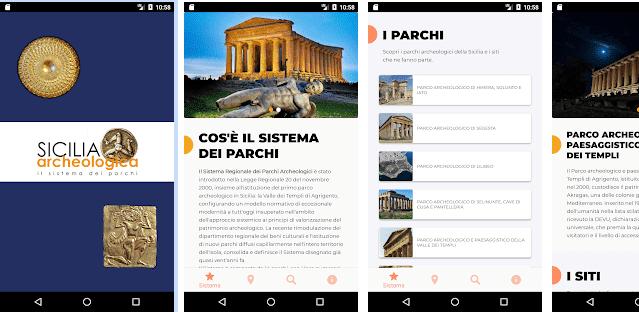 """Sicilia archeologica, un'app per """"navigare"""" tra i beni archeologici e naturali della Regione"""