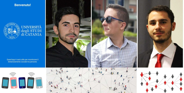 """""""Distantia"""", l'app di tre studenti dell'Università di Catania per monitorare il distanziamento sociale"""
