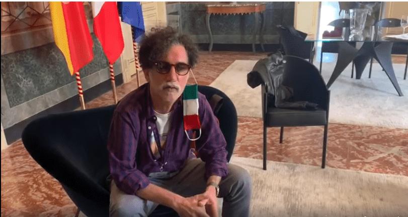 Lello Analfino dei Tinturia presenta al presidente dell'Ars Gianfranco Micciché un progetto per sostenere gli operatori dello spettacolo