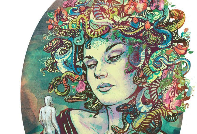 Ambita dagli dei e dagli uomini, la fragile bellezza di Medusa che porta alla Trinacria