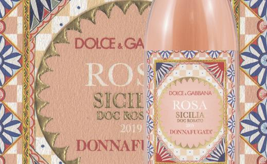 """Ecco """"Rosa"""", il rosato di Donnafugata dal packaging firmato Dolce & Gabbana ispirato al carretto siciliano"""