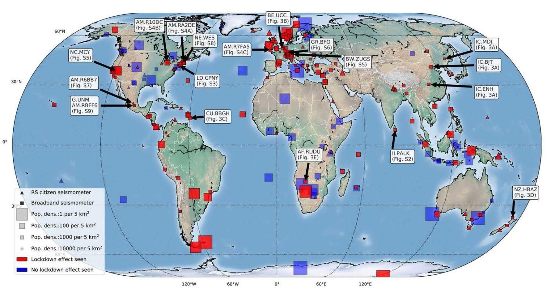 Dimezzato il rumore sismico durante il lockdown, lo dice ricerca internazionale che comprende il catanese Cannata
