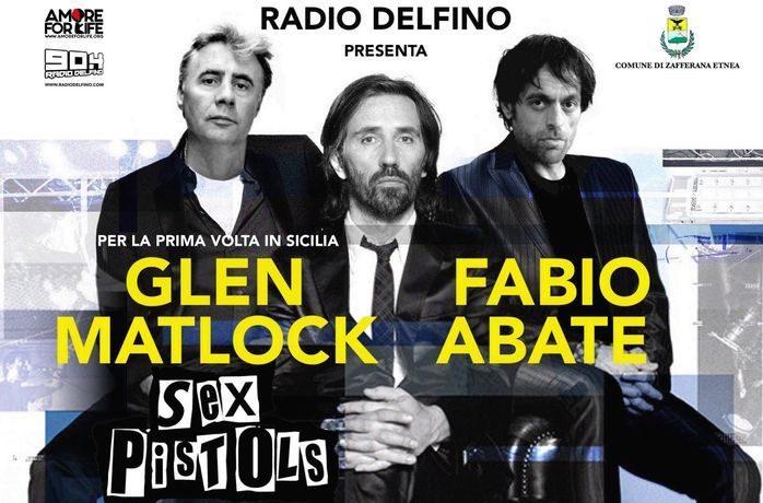 Matlock, Godano e Abate, a Zafferana l'inedito live del punk, del rocker e del cantattore