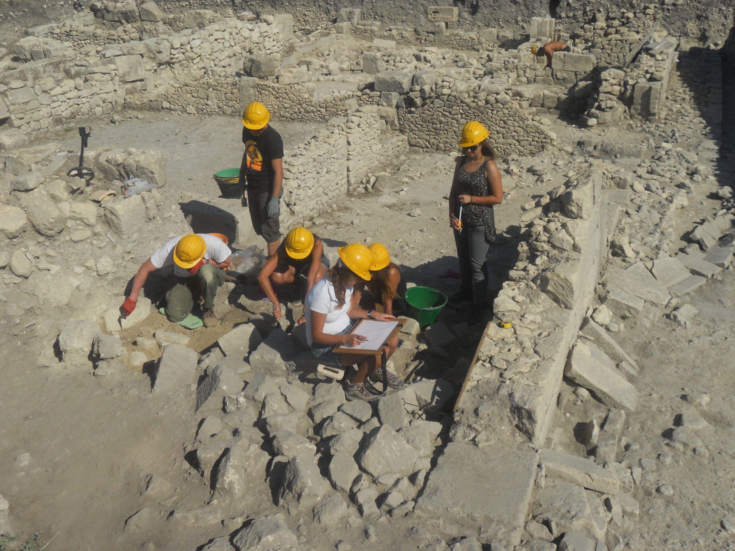 Gli scavi di Akrai restituiscono una Domus Romana