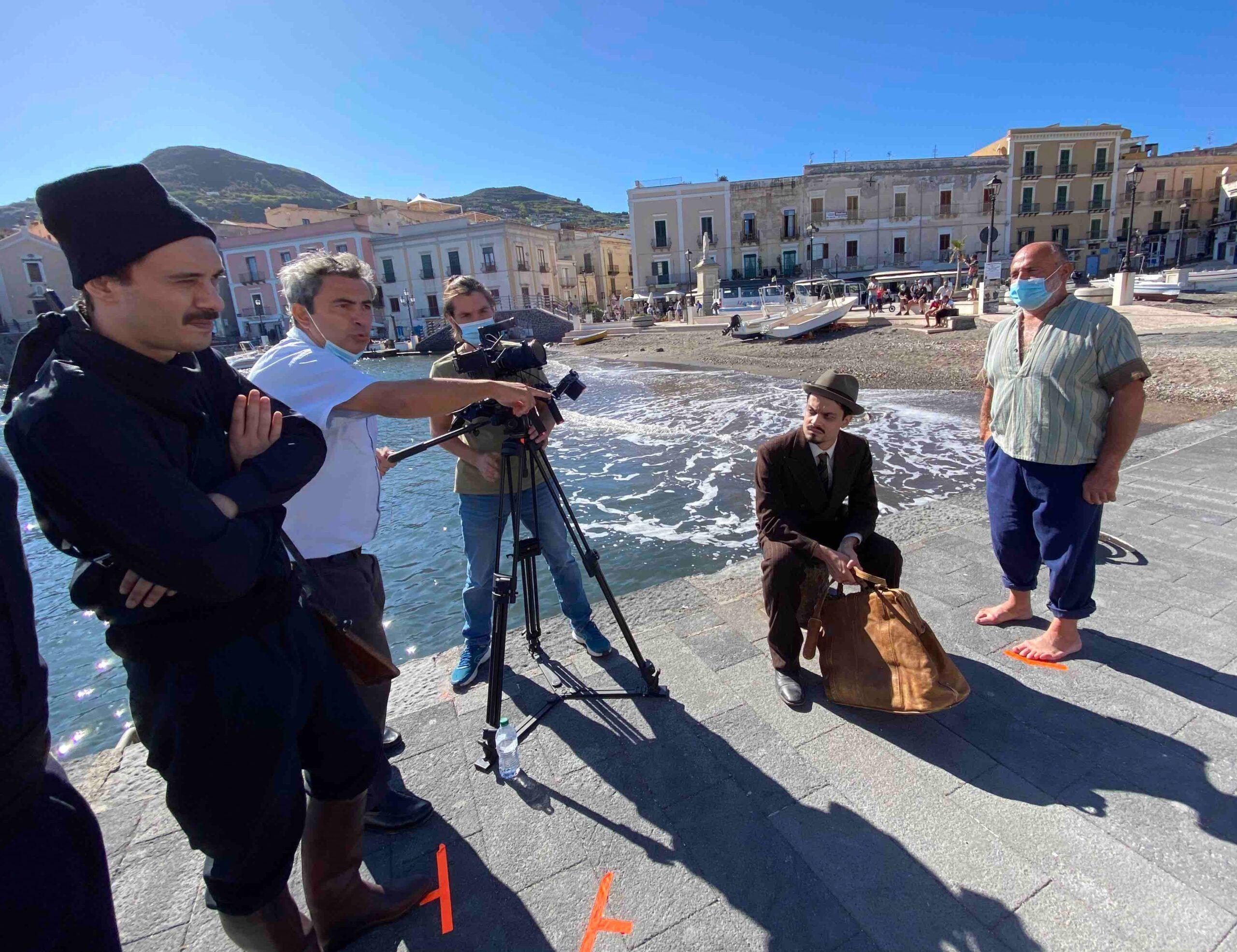 """Concluse alle Isole Eolie le riprese di """"Lussu"""", documentario dedicato allo statista sardo"""