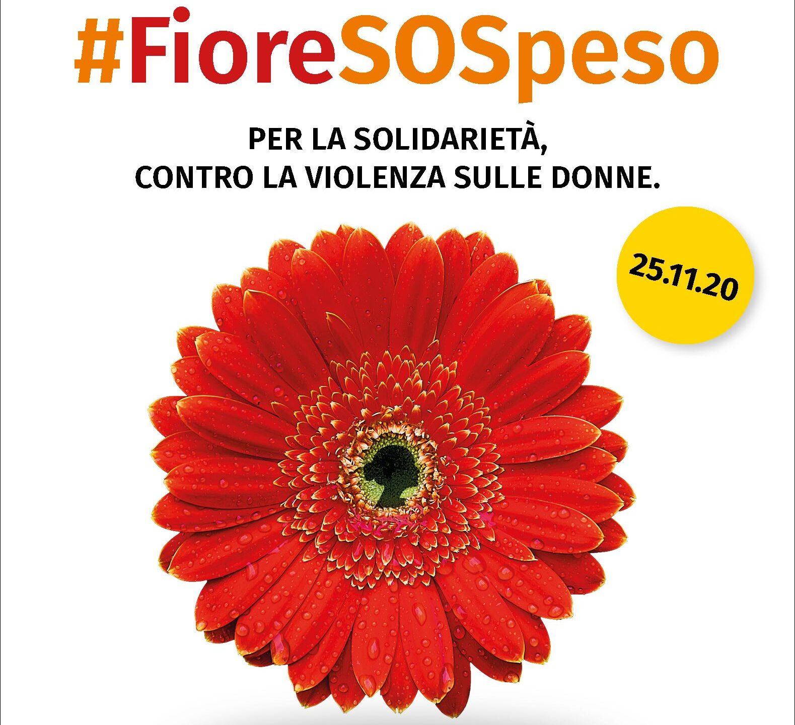 """""""Un fiore SOSpeso"""", la campagna dei fiorai che rifiutano la violenza sulle donne"""