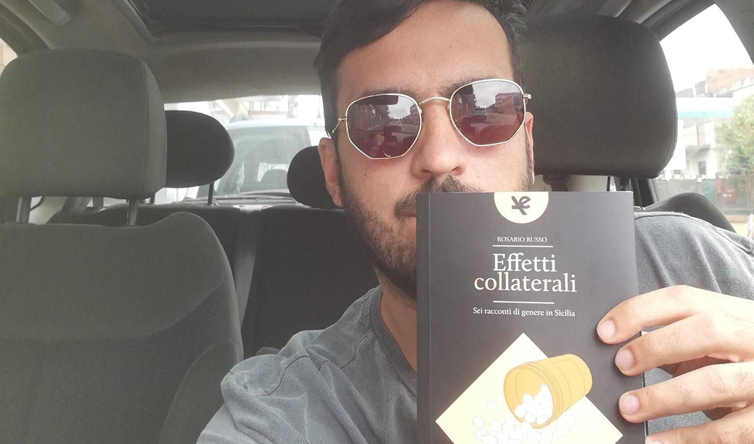 """Rosario Russo: «Con le trame gialle di """"Effetti collaterali"""" ho riscoperto l'essenza della mia terra»"""