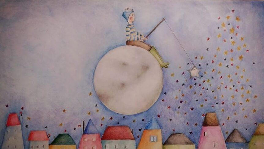 Anna Consoli e i colori come rifugio: «I miei disegni per finanziare la ricerca»