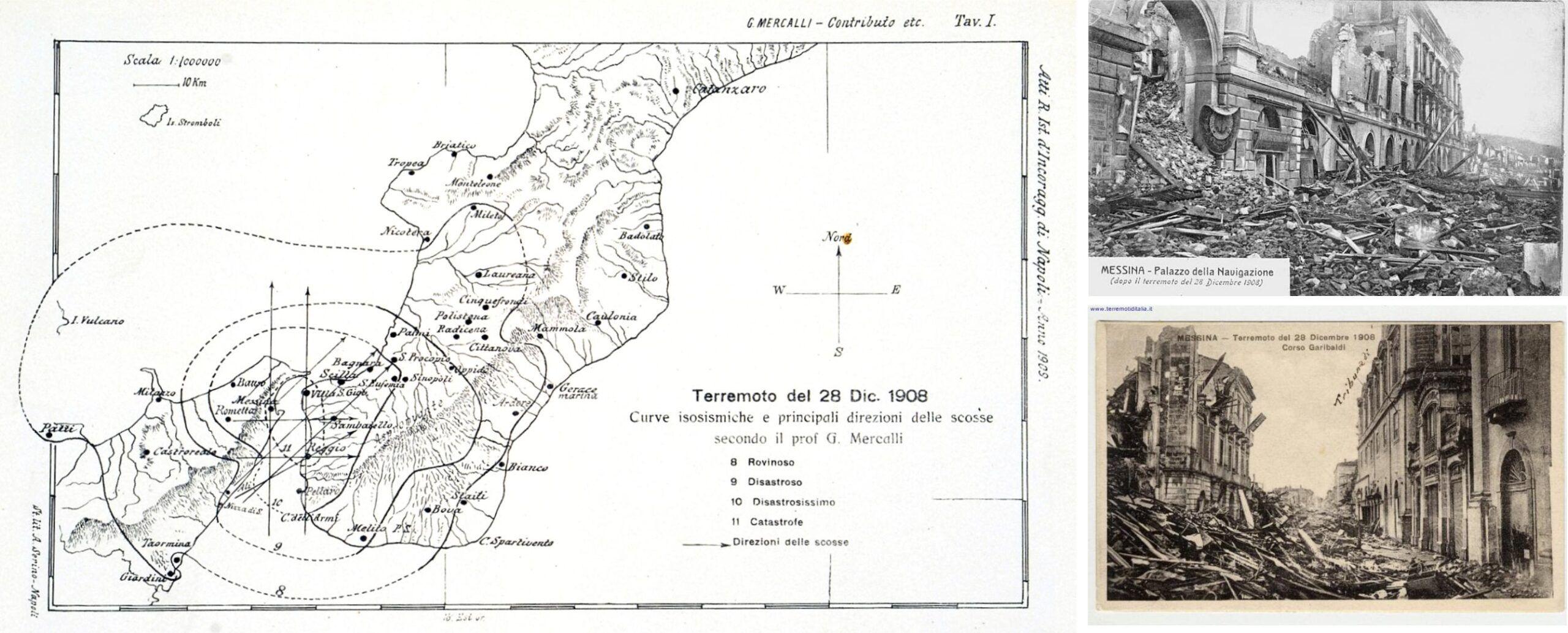 Scoperta la faglia che generò il sisma di Messina e Reggio Calabria