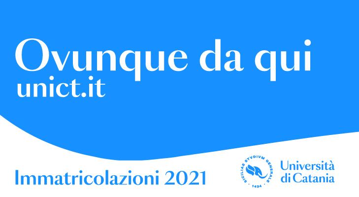 Unict immatricolazioni 2021-2022
