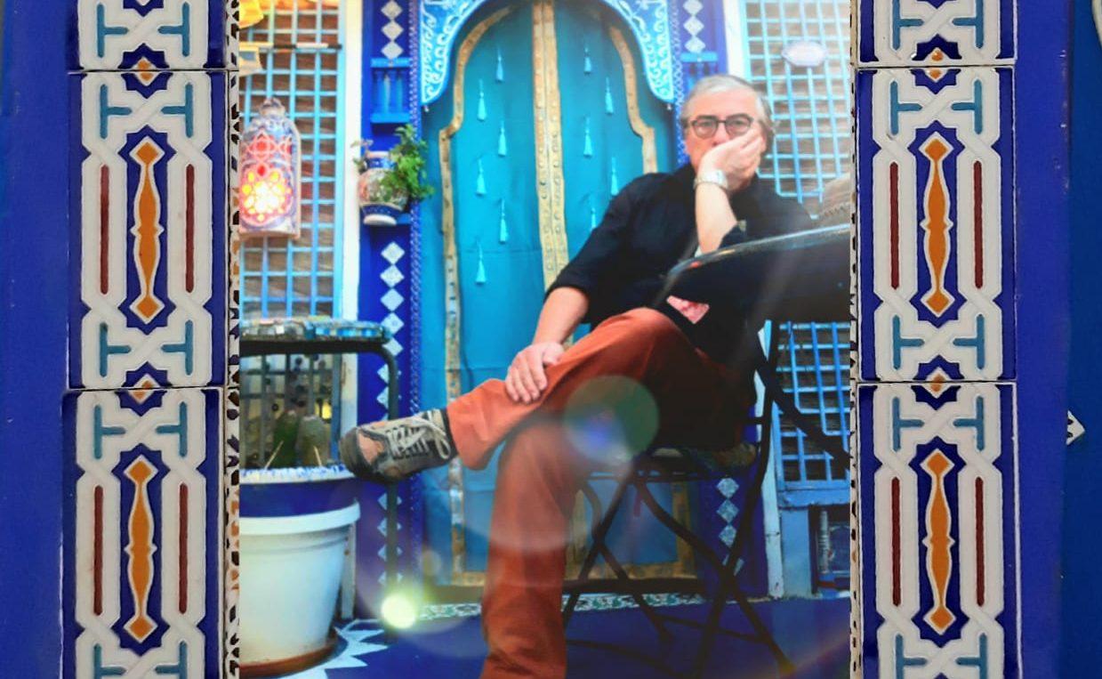 Un viaggio dentro il viaggio: l'Oasi blu di Nino Rizzo, tra arte e luoghi lontanissimi