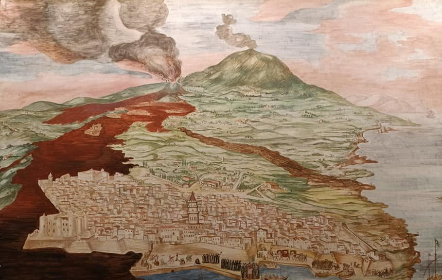 """Quando l'Etna fece diventare Catania una città """"nera"""""""